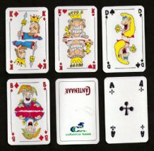 Collectible Advertising playing cards Cantenaar by Coberco Cheese.